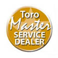 We are a Toro Master Service Dealer! Click here for more info
